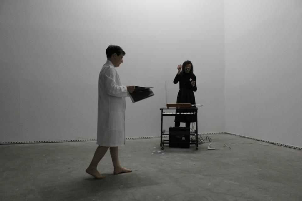 performance at White Box new york